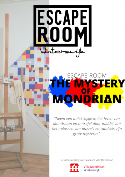 mondriaan escape room